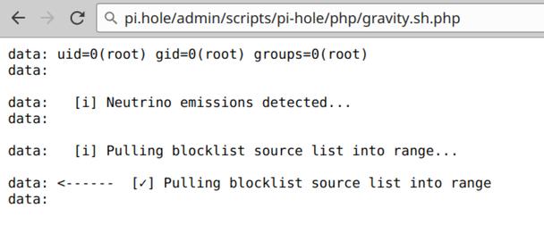 Pi-hole < v3 3 Multiple Vulnerabilities